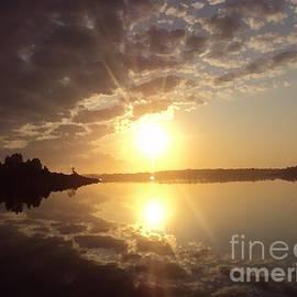 Jamie Potter - Sunrise over  Potters Lake