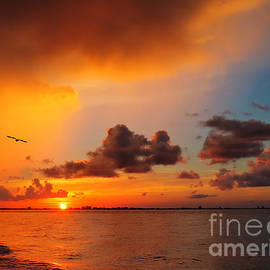 Jeff Breiman - Sunrise Over Sanibel Island