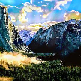Bob and Nadine Johnston - Sunrise Yosemite Valley NationalPark