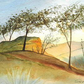 Janice Sobien - Sunset at Torrey Pines