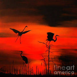 Clement Tsang - Sunset and the lonely birds