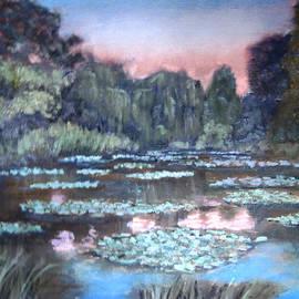 David Zimmerman - Sunset at Giverny