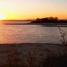 Glenn McCarthy - Sunset At Lake Skinner