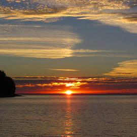 David T Wilkinson - Sunset at Little Sister Bay