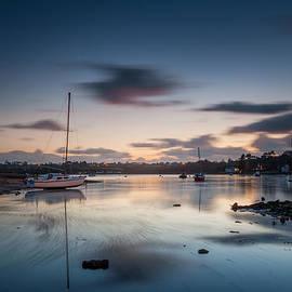 Christine Smart - Sunset at Red Wharf Bay