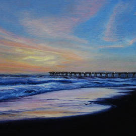 Sue Birkenshaw - Sunset at Redondo Beach