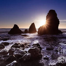 Engel Ching - Sunset at Rodeo Beach