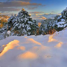 Guido Montanes Castillo - Sunset at Sierra Nevada