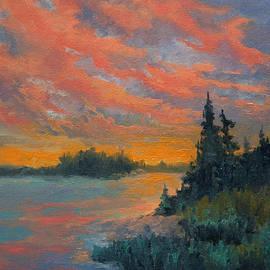 Dan Twitchell - Sunset At The Lake