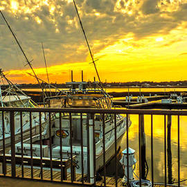 Terry Shoemaker - Sunset at the Marina
