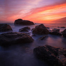 Shane Hofstetter - Sunset at the Pacific