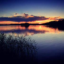 Matteo Musso - Sunset at the Segrino Lake