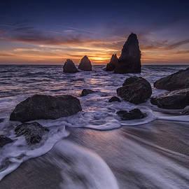 Rick Berk - Sunset at Water