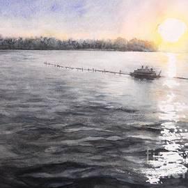 Yoshiko Mishina - Sunset At Whitmore Lake