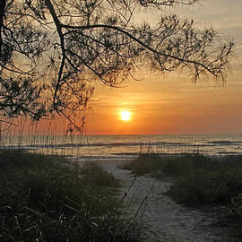 HH Photography of Florida - Sunset - Down To The Sea