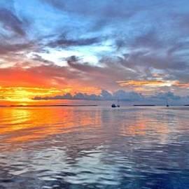 Rachel Cash - Sunset from the dock
