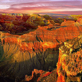 Bob and Nadine Johnston - Sunset Grand Canyon Arizona