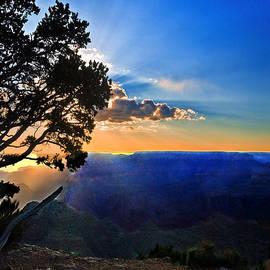 Bob and Nadine Johnston - Sunset Grand Canyon