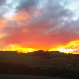 Karen Storay - Sunset Great Dividing Range