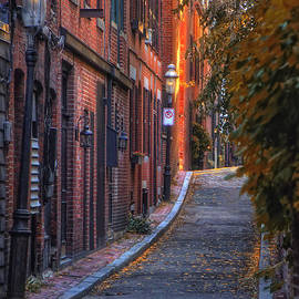 Joann Vitali - Sunset in Beacon Hill