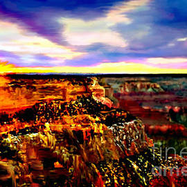 Bob and Nadine Johnston - Sunset In Grand Canyon