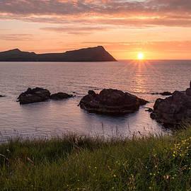 Mary Sheft - Sunset in Ireland