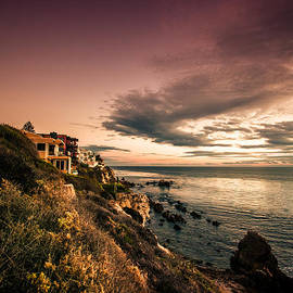 Sviatlana Kandybovich - Sunset in Newport Beach
