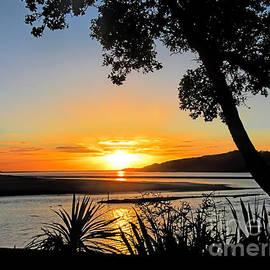Jennie Breeze - Sunset in Raglan.NZ