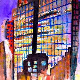 David Cullen - Sunset in the City