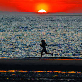Ella Char - Charleston sc Sunset Jogger