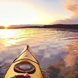 Sean Griffin - Sunset Kayak Panorama