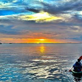 Rachel Cash - Sunset Kayaker