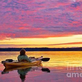 Sean Griffin - Sunset Kayaker