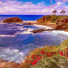 Bob and Nadine Johnston - Sunset Laguna Beach California