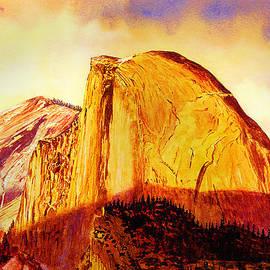 Douglas Castleman - Sunset Light From Glacier Point