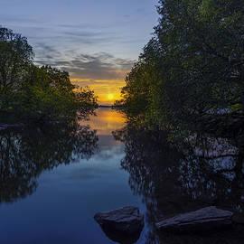 Ian Mitchell - Sunset Llanberis Lake