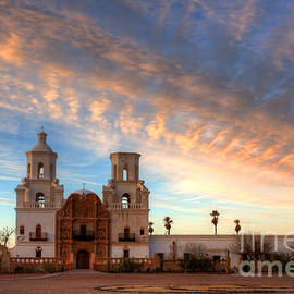 Bob Christopher - Sunset Majesty Mission San Xavier Del Bac