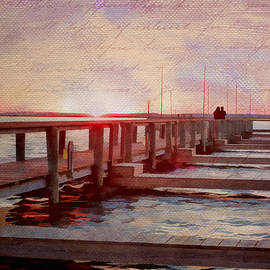 Julia Springer - Sunset Memories from Chincoteague