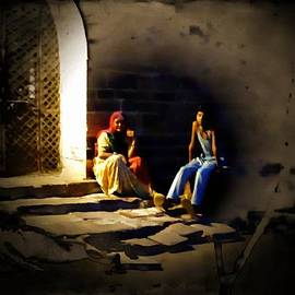 Sue Jacobi - Sunset Moments with Mom India Rajasthan Jodhpur