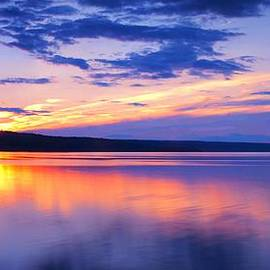 Paul Ge - Sunset On Cayuga Lake IV Ithaca New York
