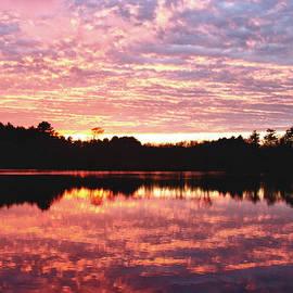 Jeff Folger - Sunset on rock pond