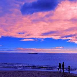 Paul Ge - Sunset on Sand beach Acadia National Park Maine