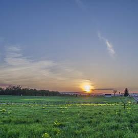Bill Cannon - Sunset on the Gettysburg Battlefield