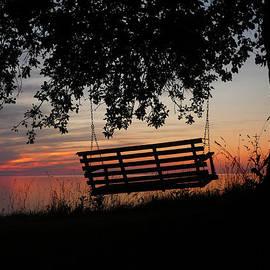 Heather Allen - Sunset on The Lake