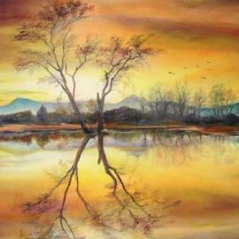 Sorin Apostolescu - Sunset on the lake