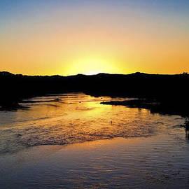 Tony Lopez - Sunset on the Rio Grande