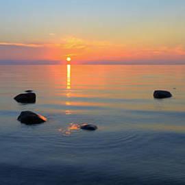 Claudio Bacinello - Sunset on Tranquil Lake