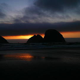 Jeff  Swan - Sunset Oregon Coast