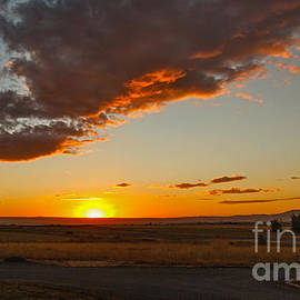 Robert Bales - Sunset Over Camas Prairie