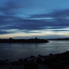 Anastasia Konn - Sunset over Quonny Rhode Island